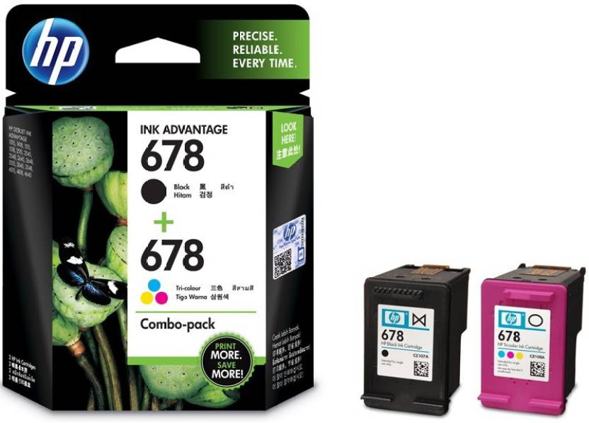 HP 678 Combo Pack Multi Color Ink Cartridge Price in Chennai, Hyderabad, Telangana