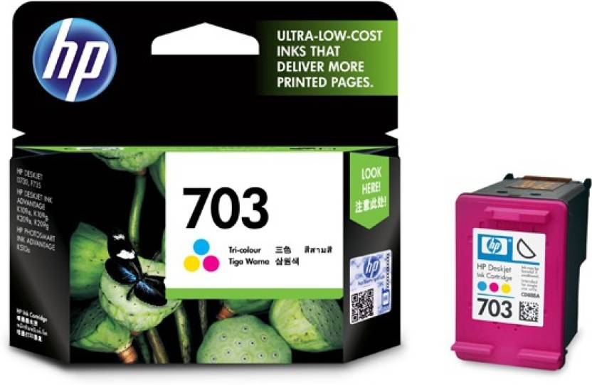 HP 703 Tri Color Ink Cartridge Price in Chennai, Hyderabad, Telangana