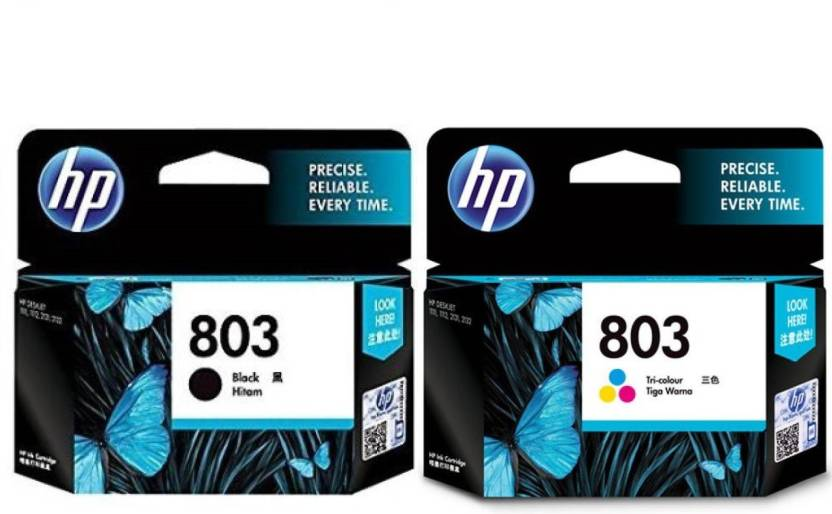 HP 803 combo pack Multi Color Ink Price in Chennai, Hyderabad, Telangana