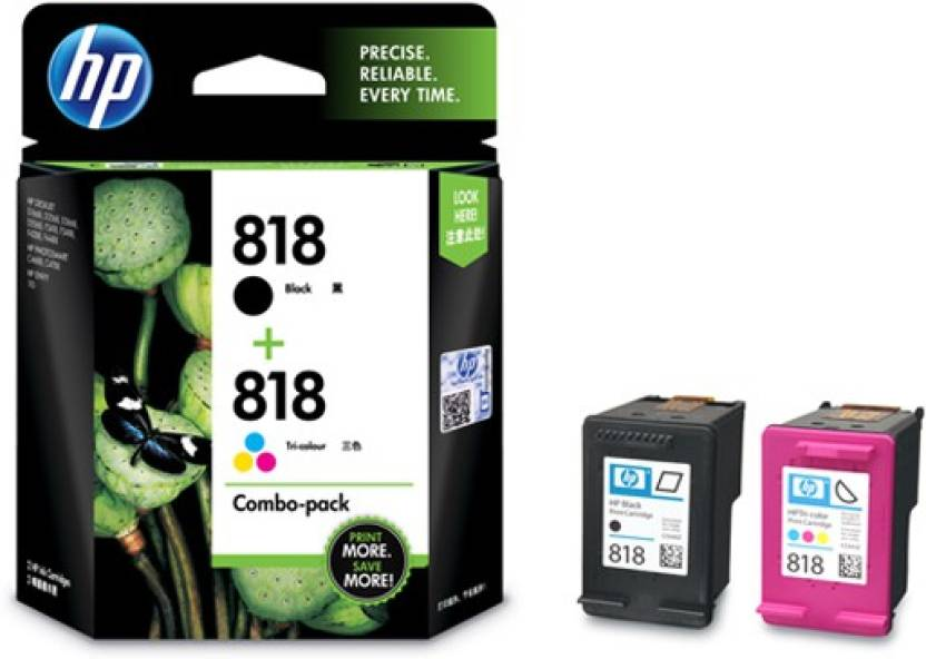 HP 818 Combo Multi Color Ink Cartridge Price in Chennai, Hyderabad, Telangana