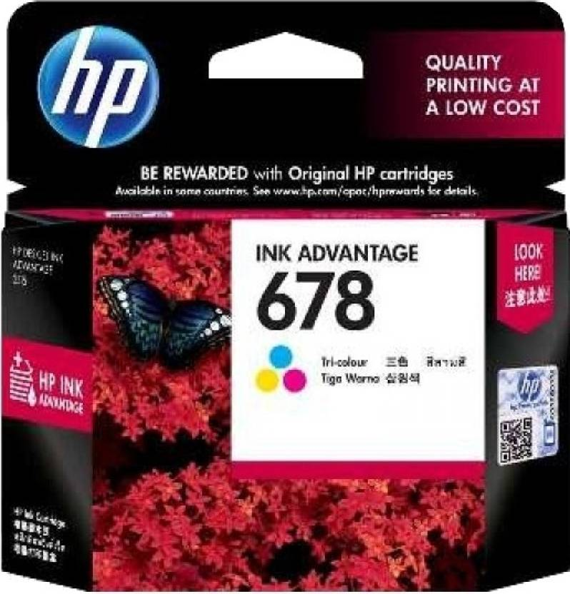 HP 678 Tri-color Ink Cartridge Price in Chennai, Hyderabad, Telangana
