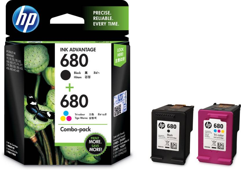 HP 680 combo pack Multi Color Ink Cartridge Price in Chennai, Hyderabad, Telangana
