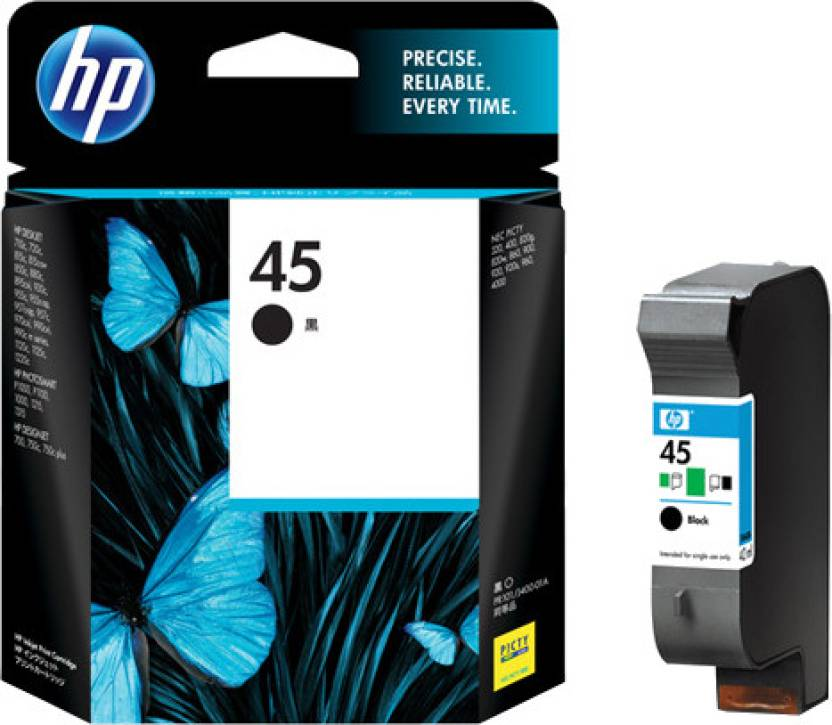 HP 45 Black Ink Cartridge Price in Chennai, Hyderabad, Telangana
