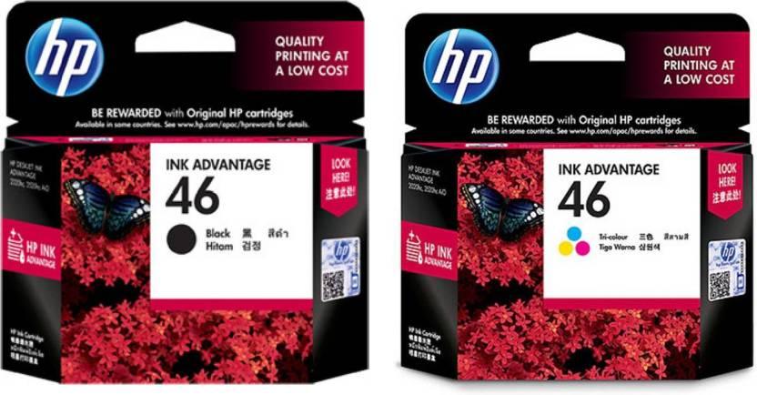 HP 46 MULTI Color Ink Multi Color Ink Cartridge Price in Chennai, Hyderabad, Telangana