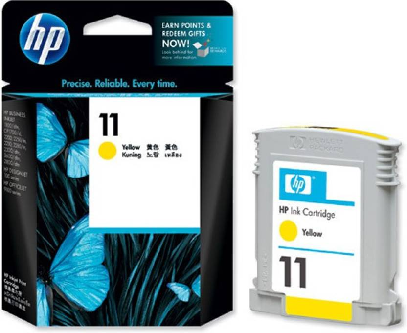 HP 11 Ink C4838A Single Color Ink Cartridge Price in Chennai, Hyderabad, Telangana
